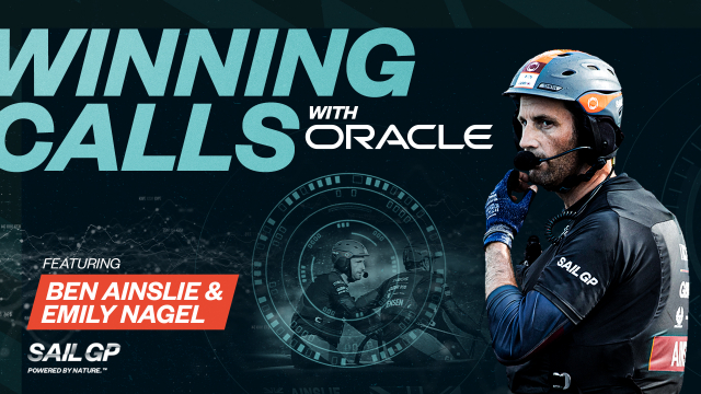 Ben Ainslie launches Winning Calls with Oracle - a new seven-part content series