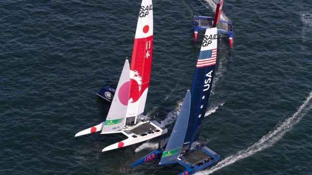 SailGP will bring the world's fastest race boats to San Francisco