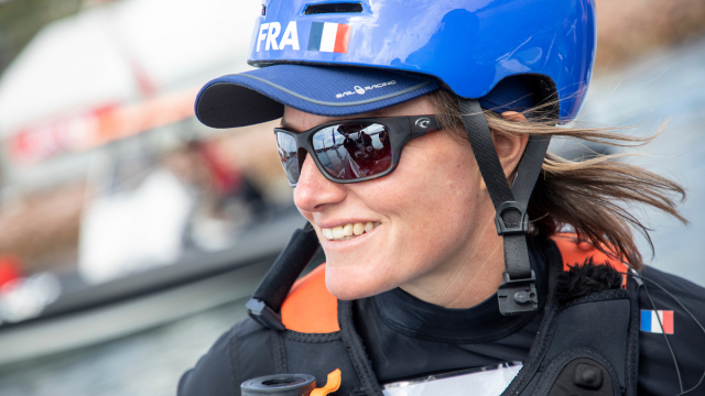 France SailGP Team flight controller and two-time Olympian Marie Riou