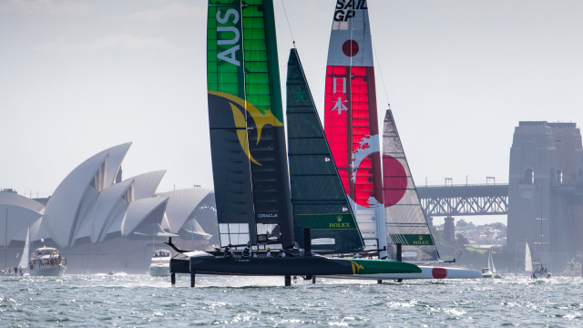 One month until SailGP Season 2 kicks off on Sydney Harbour