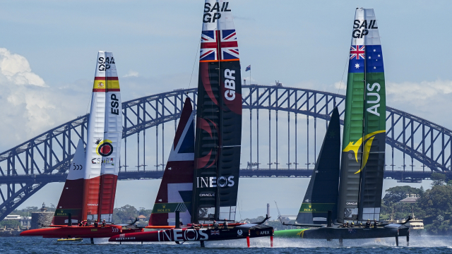 SailGP announces comprehensive broadcast coverage to 146 territories ahead of Season 2 kick off.